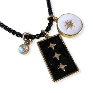 """Neapolitan 18"""" Gold Filled Charm Necklace"""